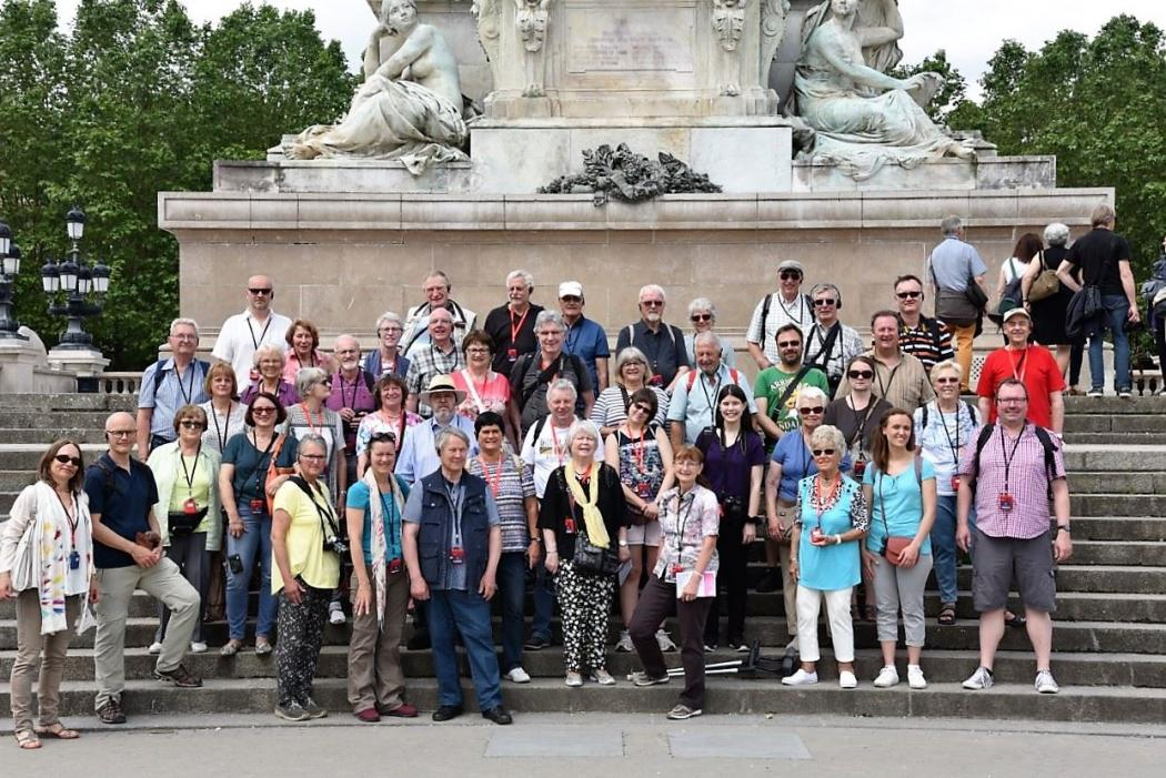 Gruppenbild in Bordeaux